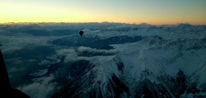 Über die Stubaier Alpen nach Süden