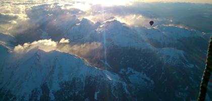 Nordföhnsturm überm Alpenhauptkamm