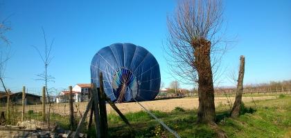 Schöffel Heißluftballon
