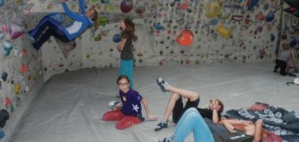 Bouldern mit Angy