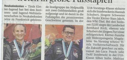 Tiroler Tageszeitung 25.09.2014