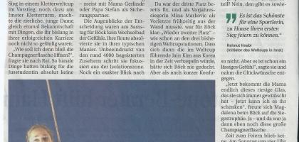 Tiroler Tageszeitung 04.08.2014