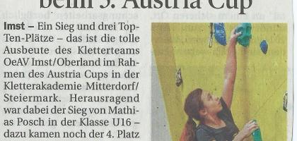 Tiroler Tageszeitung 08.05.2014