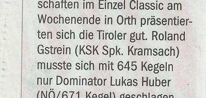 Tiroler Tageszeitung 16.06.2014