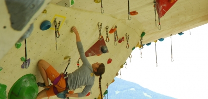 Foto: Andy Knabl | Kletterin: Katharina Bacher