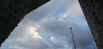 Blauer Himmel um 20Uhr!