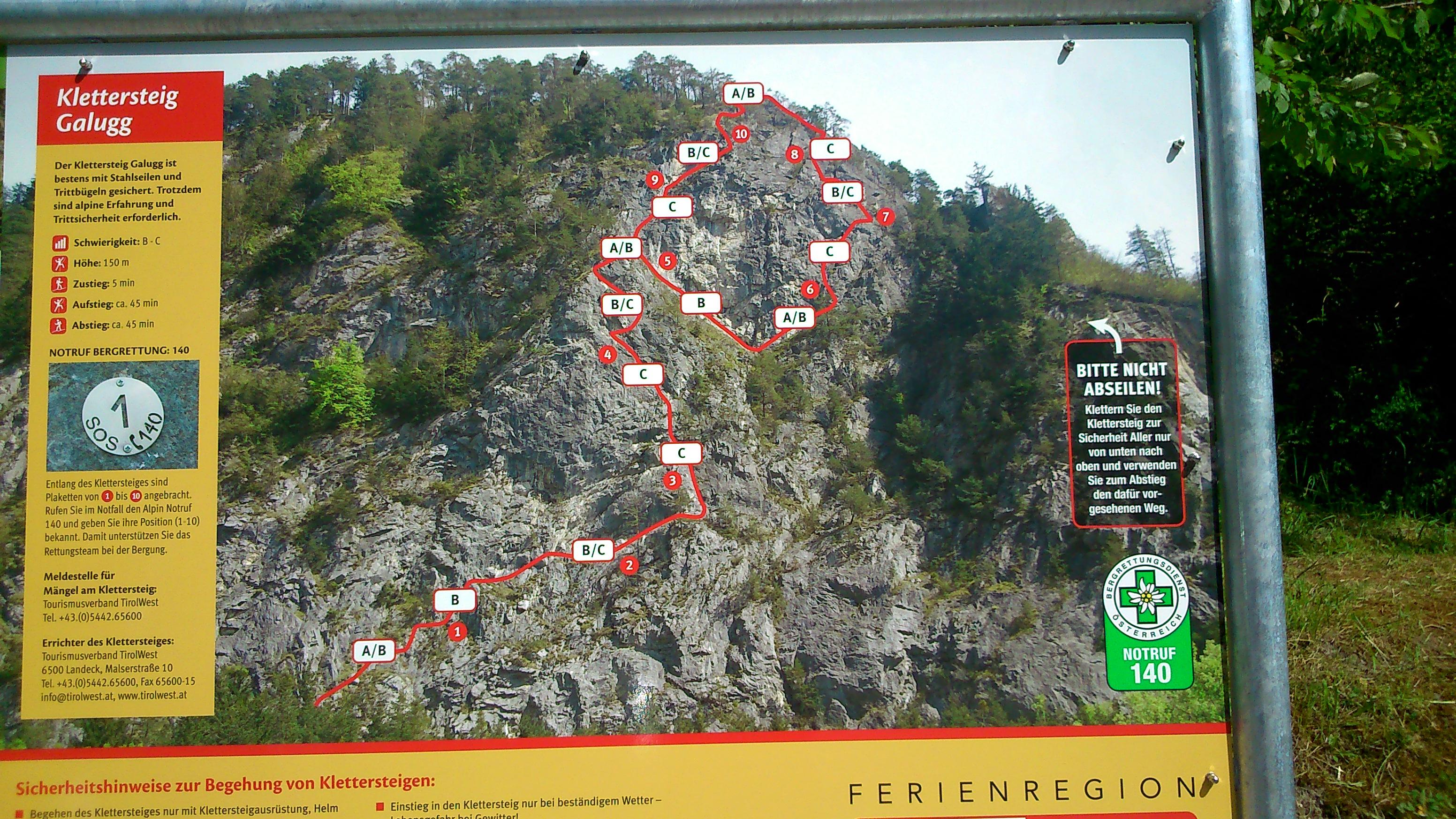 Klettersteig Zams : Kletterzentrum imst klettersteig bei zams