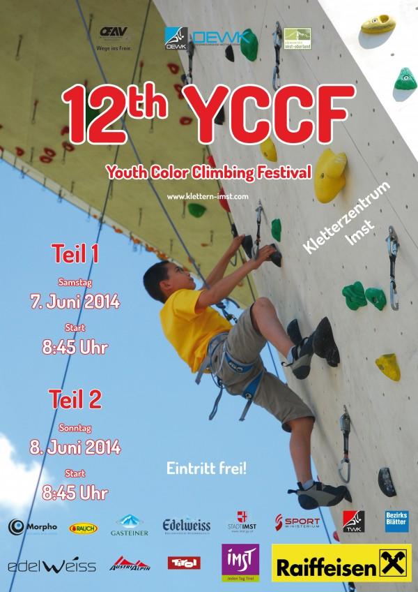 Plakat YCCF