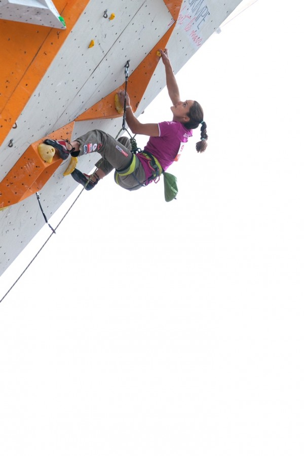 IFSC Lead and Speed Worldcup Chamonix 2014 France