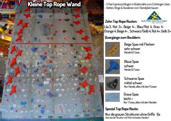 Kleine Top Rope Wand web