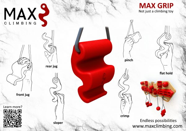 MAX GRIPS horizontale affiche