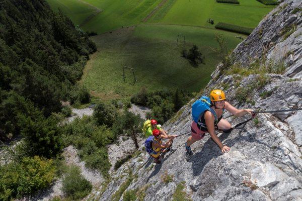 Regina Web Klettersteig