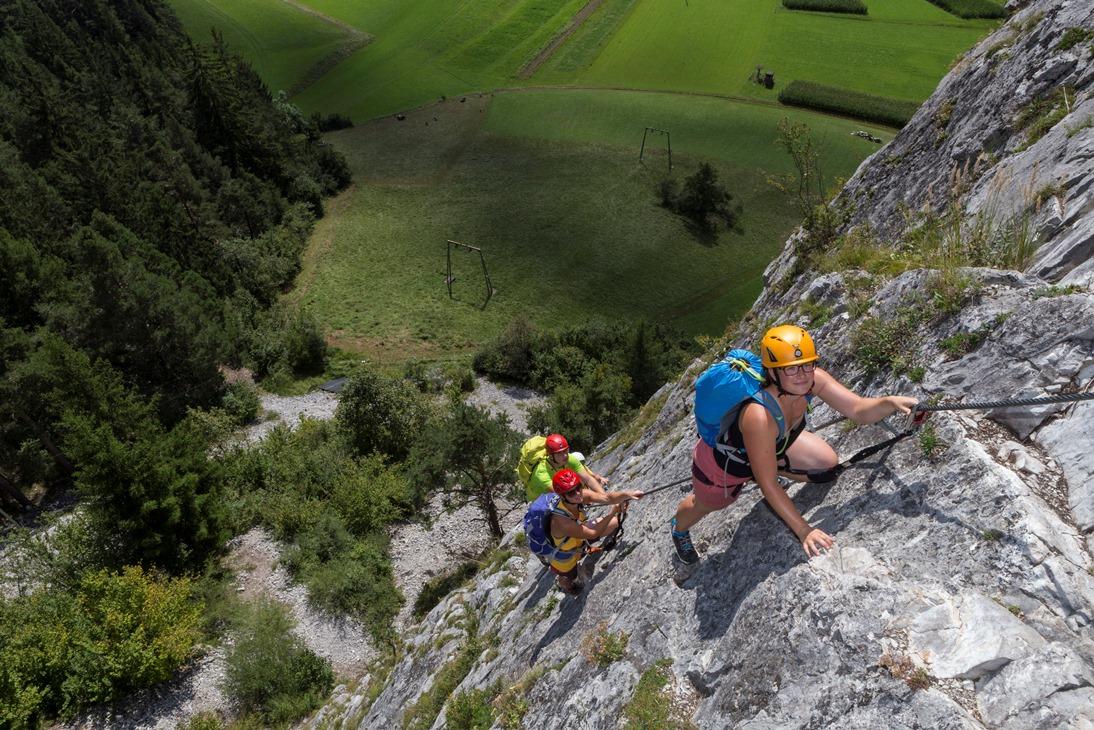 Klettersteigset Empfehlung : Klettersteigsets