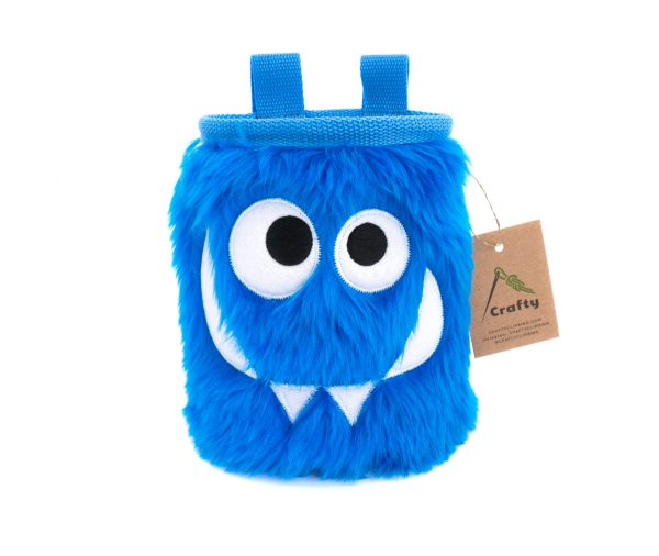 Blue Foodie Monster Chalk Bag