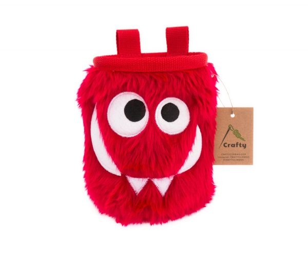 Cherry Foodie Monster Chalk Bag