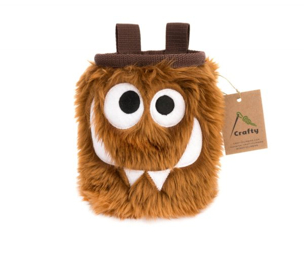Chocolate Foodie Monster Chalk Bag