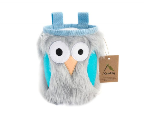 Forget-me-not Owl Chalk Bag
